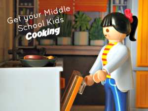 Teaching Kids Life Skills: Get your Middle School Kids Cooking