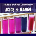 Middle School Chemistry: Acids and Bases {FREE Printable}