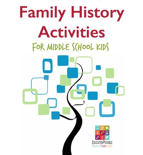 Family History for Kids - Make a Family Tree - Education Possible
