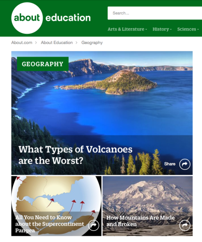 About Geography