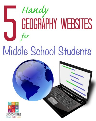 5 Handy Geography Websites for Middle School Students - Education Possible