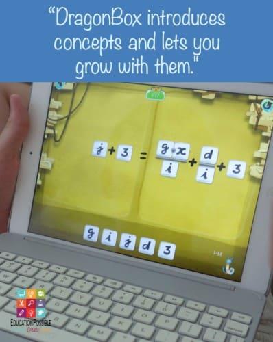 DragonBox Algebra Video Game Help - Education Possible