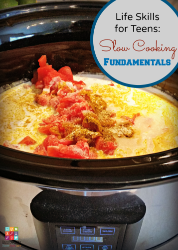 Life Skills for Teens: Slow Cooking Fundamentals @Education Possible