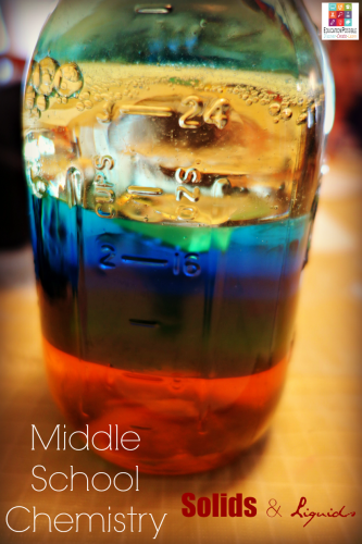 Middle School Chemistry: Solids and Liquids @Education Possible