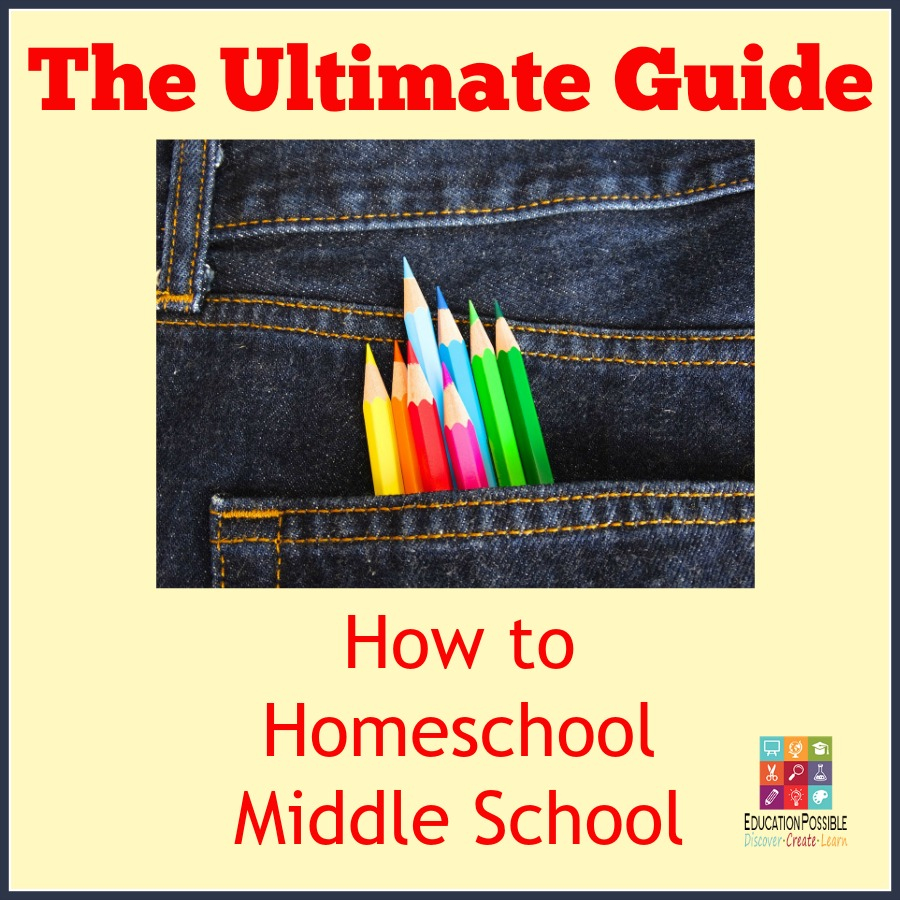 The Ultimate Guide to How to Homeschool Middle School - Education Possible