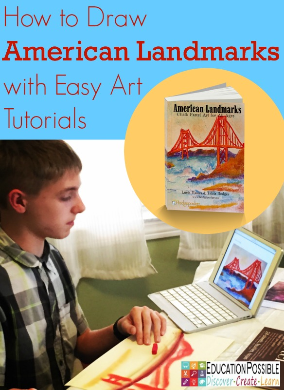 How to Draw American Landmarks with Easy Art Tutorials - Education Possible
