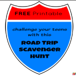 Challenge your Teens with a Road Trip Scavenger Hunt