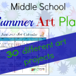 Download your FREE 30 Day Summer Art Plan