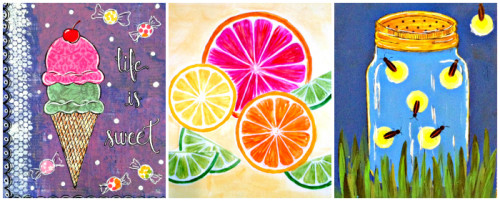 Celebrate Summer with Art: Mixed Media Workshop @Education Possible