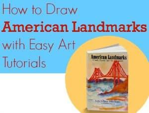 American Landmarks Easy Art Tutorials - Education Possible