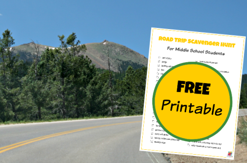 Challenge your Teens with a Road Trip Scavenger Hunt @Education Possible