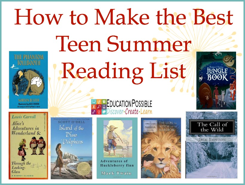 How to Make a Teen Summer Reading List - Education Possible