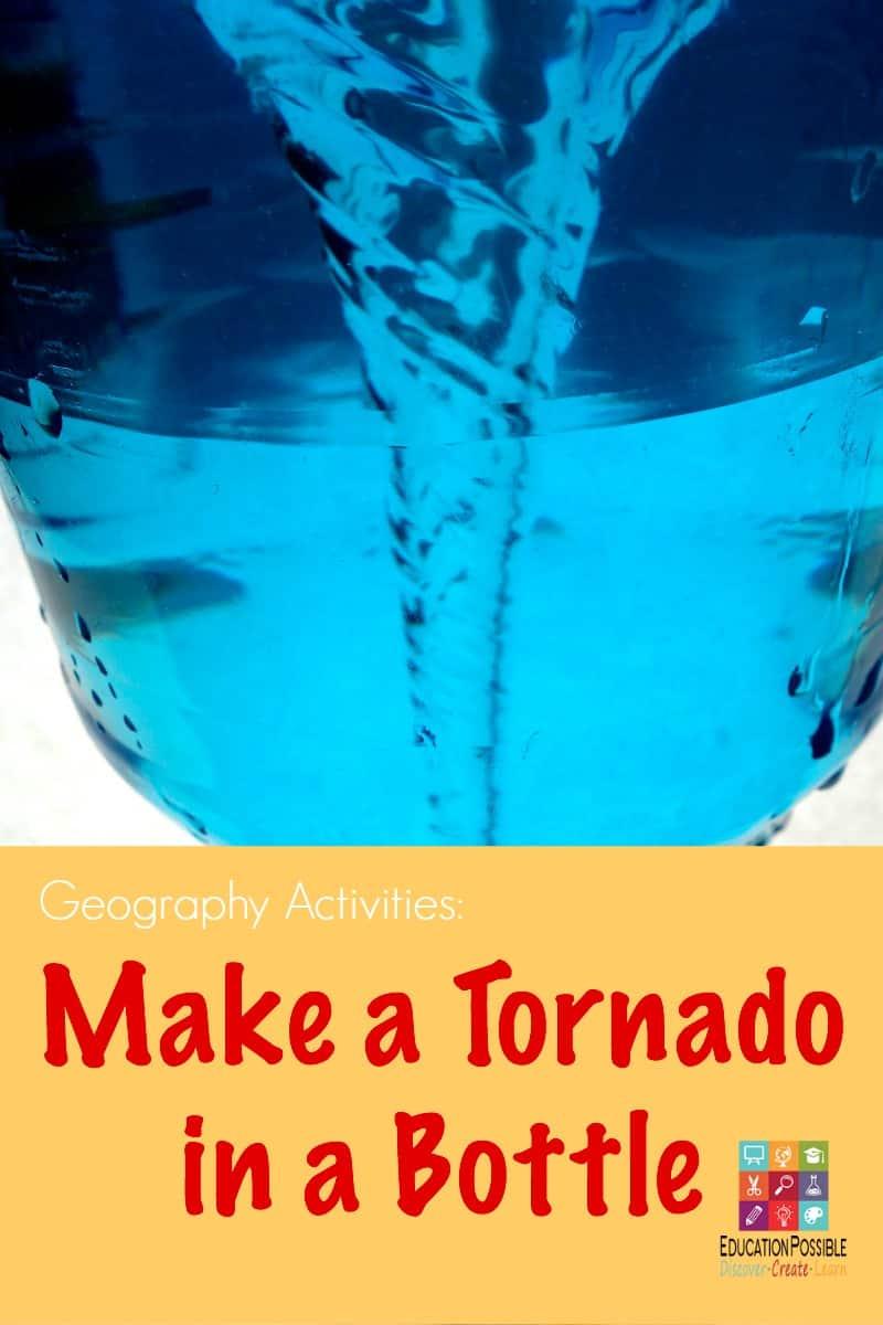 Make a Tornado in a Bottle - Education Possible