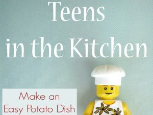 Teens in the Kitchen: Make an Easy Potato Dish