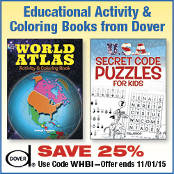 Save on Educational Activity Books from Dover!