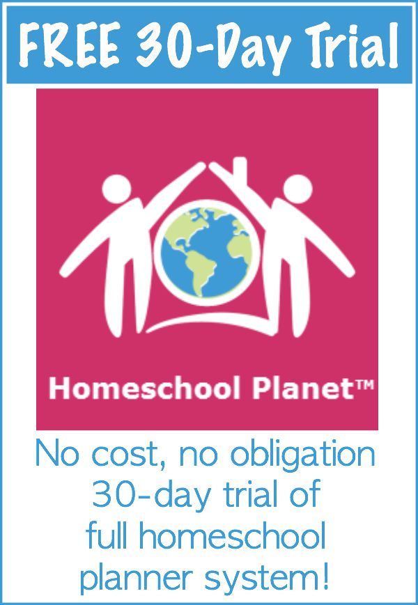 FREE 30-day trial Homeschool Planner - Education Possible