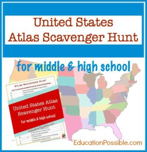 USA Scavenger Hunt -EducationPossible.com