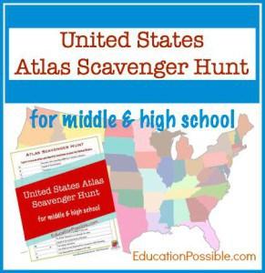 USA Scavenger Hunt -EducationPossible.com