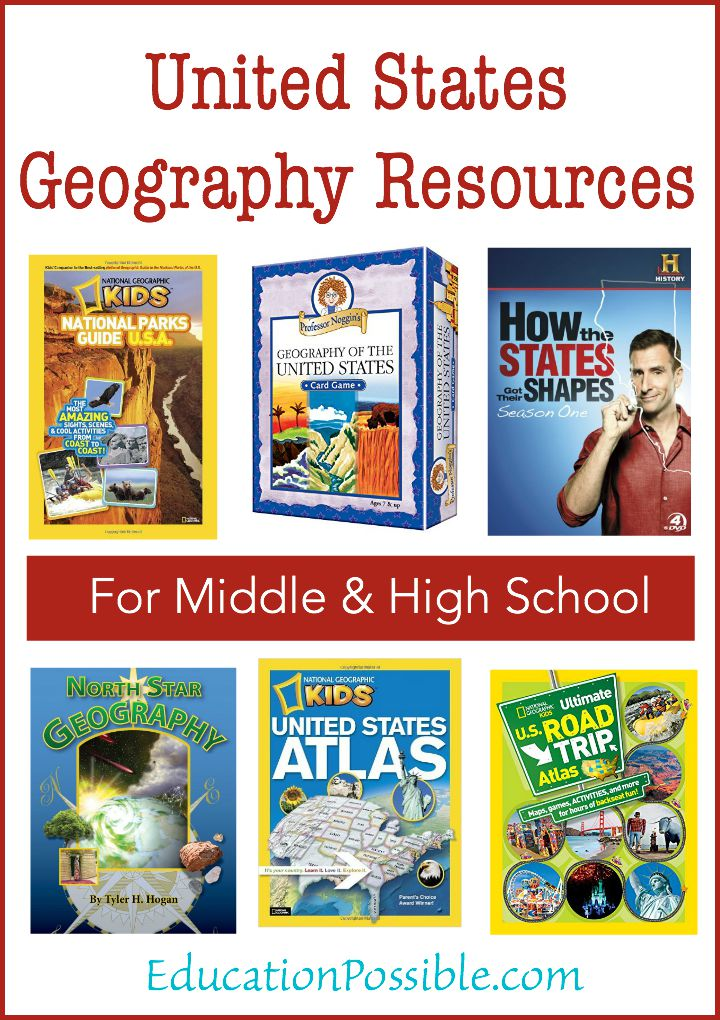 United States Geography Resources - Education Possible