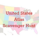 United States Atlas Scavenger Hunt [FREE Printable]
