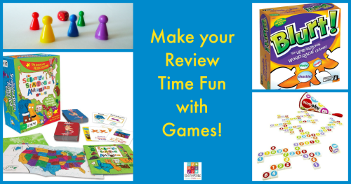 3 Games to Make Review Time Exciting (not Boring) @Education Possible
