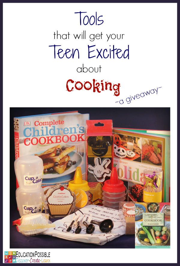 Tools that will Get your Teen Excited about Cooking @Education Possible