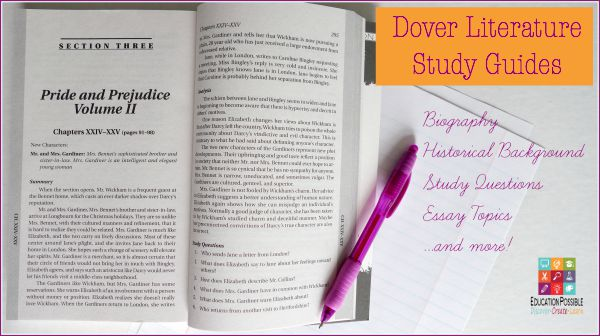 Dover Study Guides - Education Possible