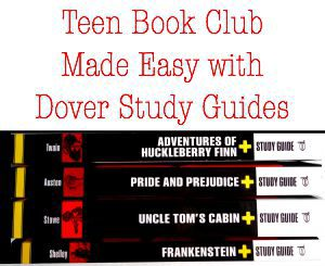 Teen Book Club Made Easy with Dover Study Guides: Adventures of Huckleberry Finn