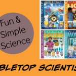 Enjoy Fun and Simple Experiments with Tabletop Scientist Books
