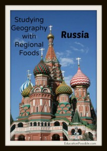 Study Geography with Regional Foods - Russia