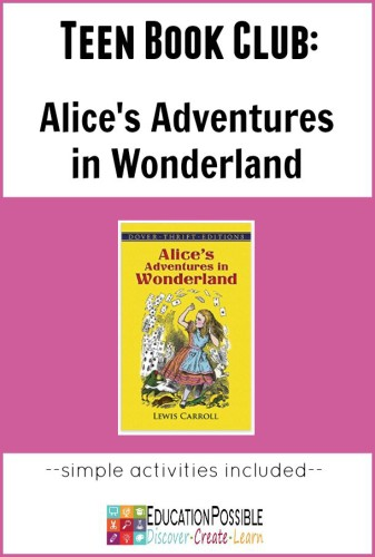 Teen Book Club Ideas: Alice in Wonderland - Education Possible