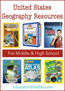 USA Geography Resources for Kids