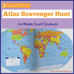 Atlas Scavenger Hunt - Education Possible