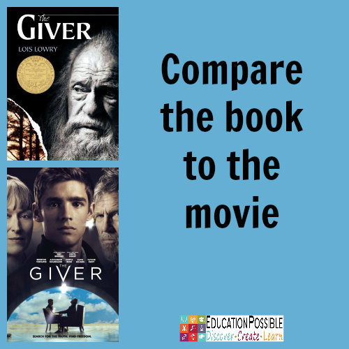 Teen Book Club Ideas: The Giver @Education Possible