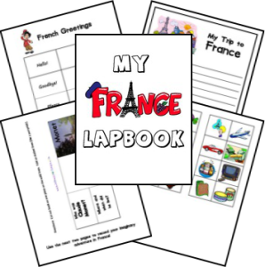 France lapbook