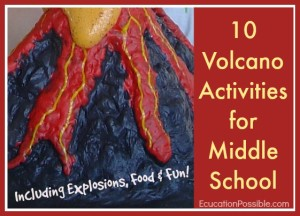 10 Volcano Activities for Kids
