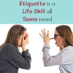 Etiquette is an Important Life Skill to Focus on for Teens