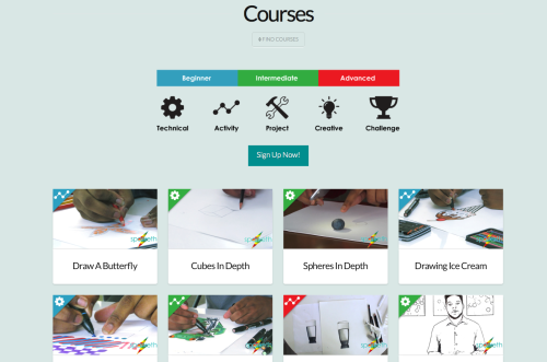 Sparketh Online Art Courses for Homeschool