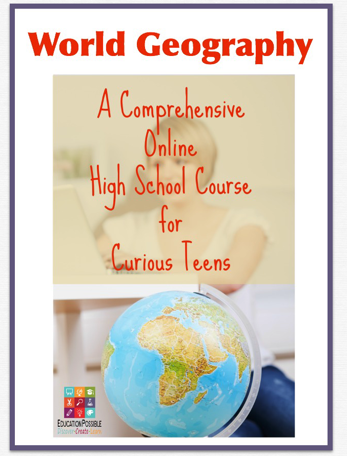 World Geography Online High School Course - Education Possible