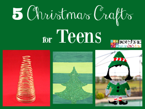 These crafts are teen tested - they were all chosen and created by my middle schoolers. Hopefully, you have as much fun working together to make these decorations as we did.