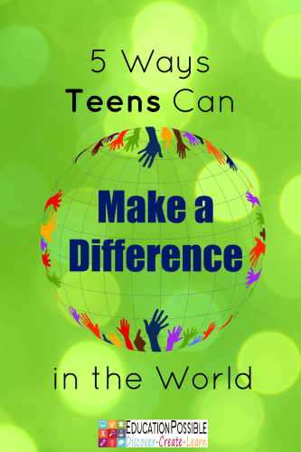 Teens Can Make a Difference