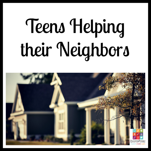 5 Ways Teens Can Make a Difference in the World helping their neighbors. 5 Ways Teens Can Make a Difference in the World The Christmas season is about giving, which makes it the perfect time to encourage your teen to think of others and give back. To make a meaningful difference. Now that our kids are older, there are more opportunities for them to volunteer and support a cause they believe in. It's our job to help them find a place that will accept them (based on the hours they can be there and their age) that matches their passion.