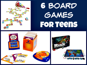 6 Board Games that will Keep your Teen's Interest