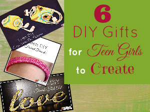 Middle School Girls: Fast and Easy DIY Gifts to Make for your Friends. Perfect for Christmas, birthdays, or just because.