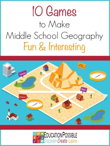 Games to Make Middle School Geography Fun & Interesting - Education Possible