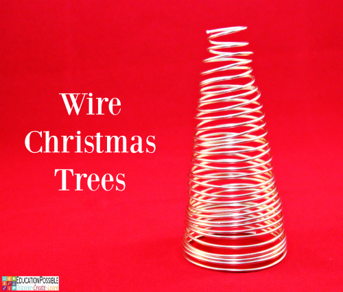 Wire Christmas Trees. 5 DIY Christmas Crafts for Teens that they'll Enjoy Creating These crafts are teen tested - they were all chosen and created by my middle schoolers. Hopefully, you have as much fun working together to make these decorations as we did. Creative projects - great DIY craft idea to do with your older kids - and perfect for gifts if you want to make extras.