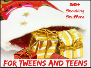 50+ Cool Stocking Stuffer Ideas for Tweens and Teens