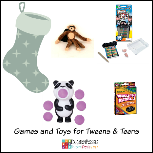 Cool Toys For Teens : Cool stocking stuffer ideas for tweens and teens