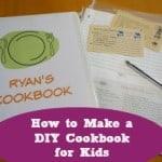 How to Make a DIY Cookbook for Kids