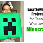 An Easy Sewing Project for Teens Who Love Minecraft